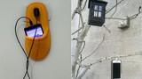 Đôi dép cũng giúp sạc pin điện thoại khi ở... hoàn cảnh khó