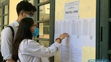 Hơn 400 thí sinh không đến làm thủ tục dự thi tốt nghiệp đợt 2