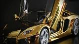 Lamborghini mô hình bằng vàng, gắn kim cương gần 100 tỷ đồng