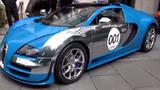 Dàn siêu xe khủng Bugatti Veyron nối đuôi nhau trên phố