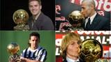 Những QBV thế giới chưa một lần vô địch Champions League
