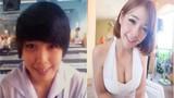 """Nhan sắc tệ hại của hot girl Thái trước khi """"dao kéo"""""""