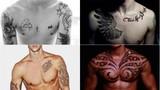 Những hình xăm trước ngực cá tính của trai đẹp