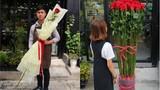 """Dân mạng săn hoa hồng """"khổng lồ"""" làm quà Valentine"""