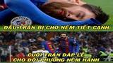 """Ảnh chế bóng đá: Một lần nữa Ronaldo """"hôm hận"""" vì Messi"""