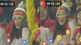 """Hot girl trên khán đài chung kết U23 Việt Nam khiến anh em """"phát cuồng"""""""