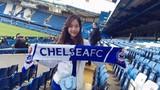 Dành cả thanh xuân để du lịch SVĐ, fan nữ Chelsea bỗng nổi tiếng