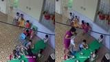 GV mầm non nhồi nhét thức ăn, đánh bé trai hơn 2 tuổi ở Hà Nội