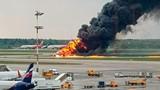 Cháy máy bay tại Nga, 41 người thiệt mạng