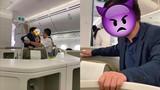 Hành khách thương gia sàm sỡ cô gái trẻ trên máy bay