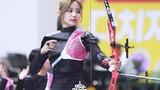 """Nữ cung thủ Hàn Quốc minh chứng """"quốc bảo nhan sắc"""" gây thương nhớ"""