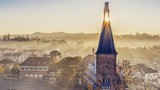 Đẹp tựa trời Âu, Đại học ở Đà Lạt khiến CĐM phải lên tận nơi check-in