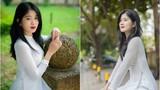 Diện áo dài, cô giáo mầm non tương lai khiến netizen xao xuyến