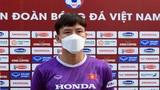 """Đội trưởng đội tuyển Việt Nam: """"Chúng tôi cố gắng phòng ngự chắc chắn"""""""