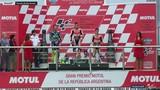 Marquez vượt mặt Rosssi, về nhất tại MotoGP Argentina 2016