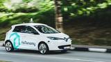 nuTonomy- xe taxi tự lái đầu tiên tại Singapore