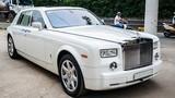 Cận cảnh Rolls-Royce Phantom 2008 giá 11 tỷ tại Sài Gòn