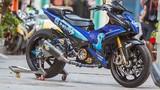 """Soi xe máy Yamaha Exciter 150 độ """"khủng"""" tại Sài Gòn"""
