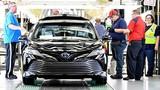 Toyota triệu hồi xe sedan Camry 2018 vì lỗi động cơ