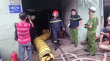 Cháy công ty hóa chất, hơn 100 chiến sĩ tích cực chữa cháy