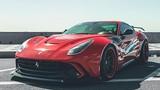 """Ferrari F12 Berlinetta """"độ khủng"""" của đại gia Việt lên báo Tây"""