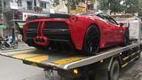 """Ferrari 458 tiền tỷ độ độc nhất VN """"làm dâu"""" Hà Nội"""