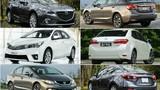3 mẫu xe làm nóng thị trường Việt cuối năm 2014