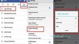 Cách tắt chức năng tự động phát video trên Facebook