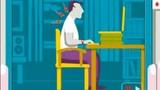 Tư thế ngồi máy tính đúng không hại sức khỏe