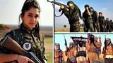 Xem nữ binh sĩ Syria chiến đấu chống IS bảo vệ quê nhà