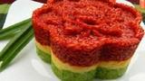 Cách nấu xôi ba màu cực đẹp bằng lò vi sóng