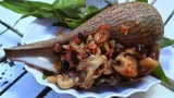 Cách người Nhật chế biến món ốc nướng siêu cầu kỳ