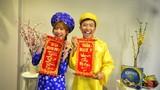 Clip chúc Tết siêu hài của vợ chồng Trấn Thành - Hari Won