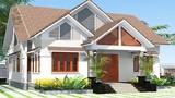 10 mẫu nhà mái ngói giá rẻ với không gian mở 2018