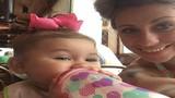 Bé gái 8 tháng tuổi thoát chết may mắn và lý do bất ngờ