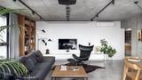 Penthouse đẹp hiện đại với phong cách công nghiệp
