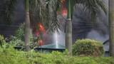 Cháy hóa chất ở Long Biên: Phát sinh lượng lớn chất thải nguy hại