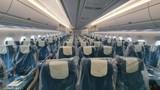 Bên trong máy bay đón 129 bệnh nhân COVID-19 từ Guinea Xích đạo