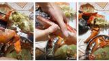 Mua tôm hùm Alaska hơn 3kg về ăn, cả nhà cay đắng khi đập ra