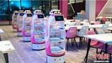 Đột nhập nhà hàng có robot phục vụ khiến khách hàng chen chân đặt chỗ