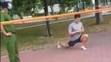 Thản nhiên tập thể dục ở công viên, nam thanh niên bị phạt 4 triệu đồng