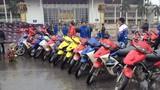 Hàng trăm xe FX đội mưa khuấy động bán đảo Linh Đàm