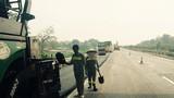 Khắc phục 96.000 m2 hằn lún trên cao tốc Nội Bài - Lào Cai