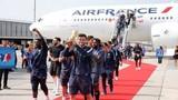 Cận cảnh: Dàn sao Pháp mang cúp vàng World Cup 2018 về nước