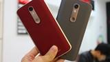 Soi điện thoại Motorola Droid Turbo 2 màn hình không thể vỡ ở VN