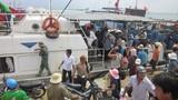 Gần 1.000 người bị kẹt ở đảo Lý Sơn đã về đất liền