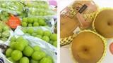 Dân sành bạo chi mua hoa quả Nhật - Hàn