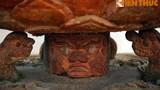 Tượng quỷ dữ đội Phật Quan Âm cực lạ của chùa Hội Hạ