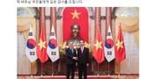 Tổng thống Hàn Quốc đăng Facebook cảm ơn Việt Nam