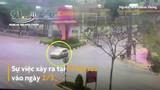 Video: Xe máy chạy tốc độ cao đâm ôtô, tài xế văng lên cao